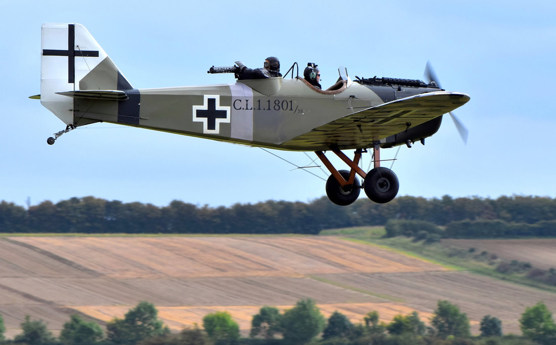 The Team Aircraft - Bremont Great War Display Team
